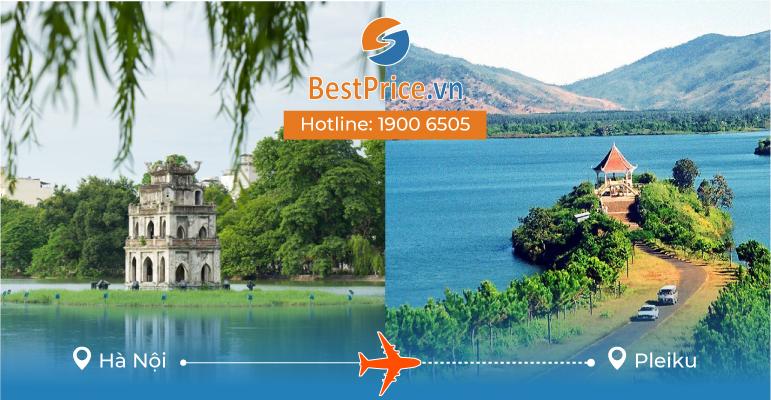 Vé máy bay giá rẻ từ Hà Nội đi Pleiku