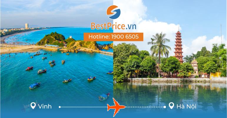 Đặt vé máy bay giá rẻ từ Vinh đến Hà Nội