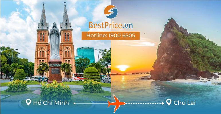 Vé máy bay giá rẻ từ Sài Gòn đi Chu Lai