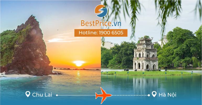 Vé máy bay giá rẻ từ Chu Lai - Hà Nội