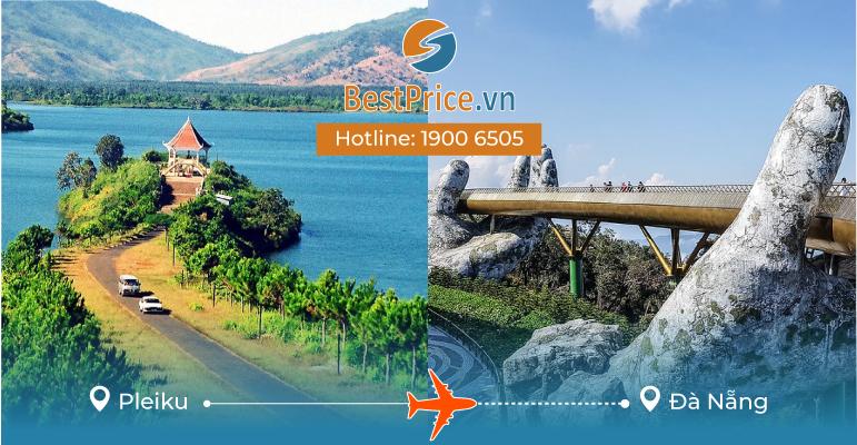 Vé máy bay giá rẻ từ Pleiku - Đà Nẵng