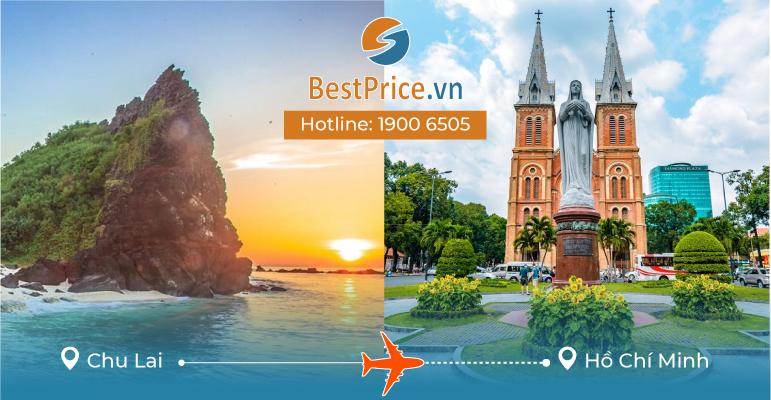 Vé máy bay giá rẻ từ Chu Lai đi Hồ Chí Minh