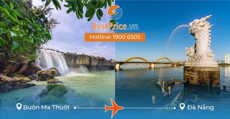 Vé máy bay giá rẻ từ Buôn Ma Thuột – Đà Nẵng