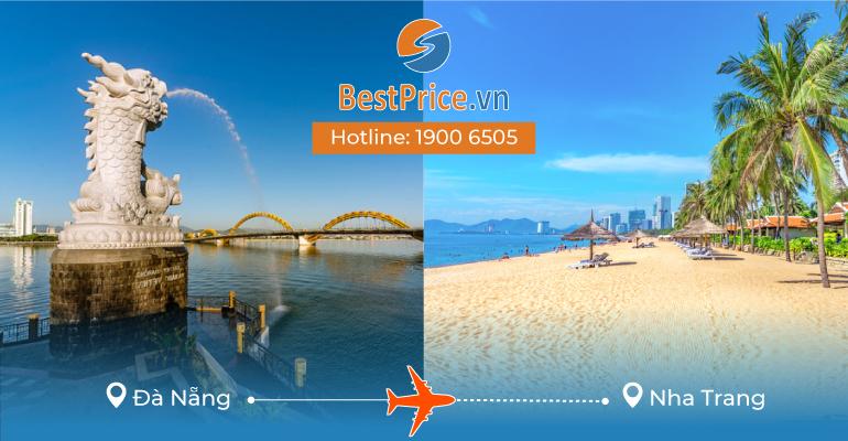 Vé máy bay giá rẻ từ Đà Nẵng tới Nha Trang
