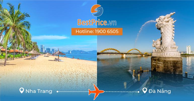 Vé máy bay giá rẻ từ Nha Trang - Đà Nẵng