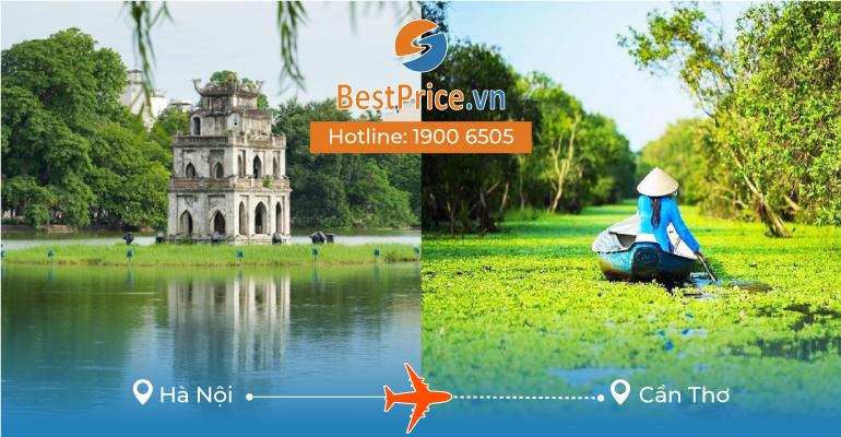 Vé máy bay giá rẻ Hà Nội - Cần Thơ