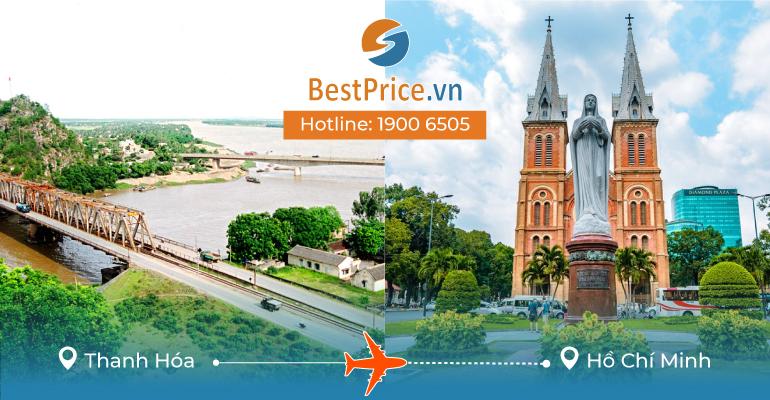 Đặt vé máy bay Thanh Hóa đi Sài Gòn