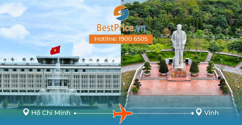 Đặt vé máy bay Sài Gòn đi Vinh