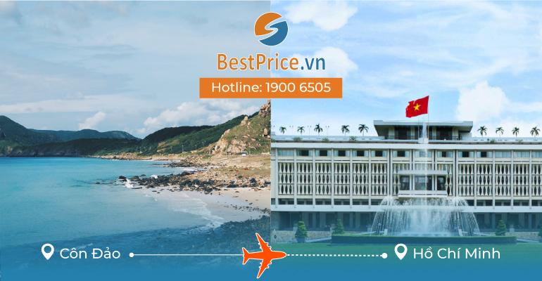 Đặt vé máy bay Côn Đảo đi Sài Gòn