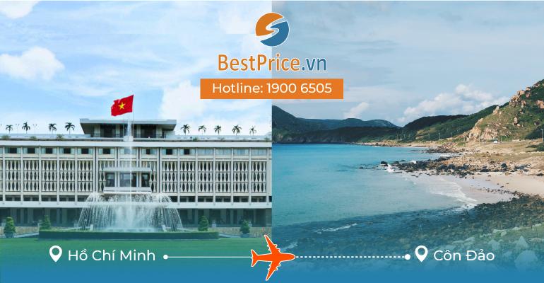 Vé máy bay giá rẻ từ Hồ Chí Minh đi Côn Đảo