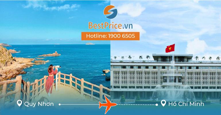 Vé máy bay giá rẻ từ Quy Nhơn đi Sài Gòn