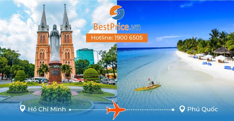 Vé máy bay Sài Gòn đi Phú Quốc