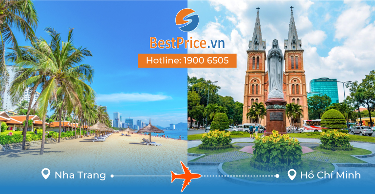 Vé máy bay giá rẻ từ Nha Trang đến Hồ Chí Minh