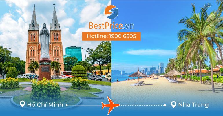 Vé máy bay giá rẻ từ Sài Gòn đi Nha Trang