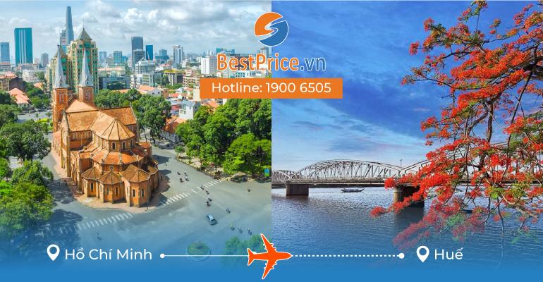 Vé máy bay giá rẻ từ Sài Gòn đi Huế