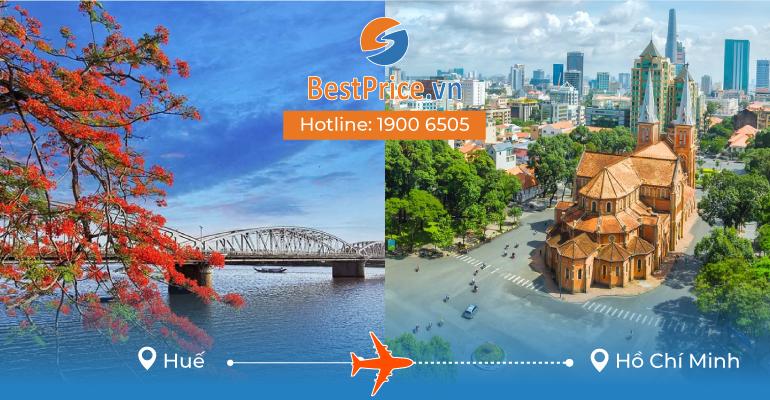 Vé máy bay giá rẻ từ Huế đến Hồ Chí Minh