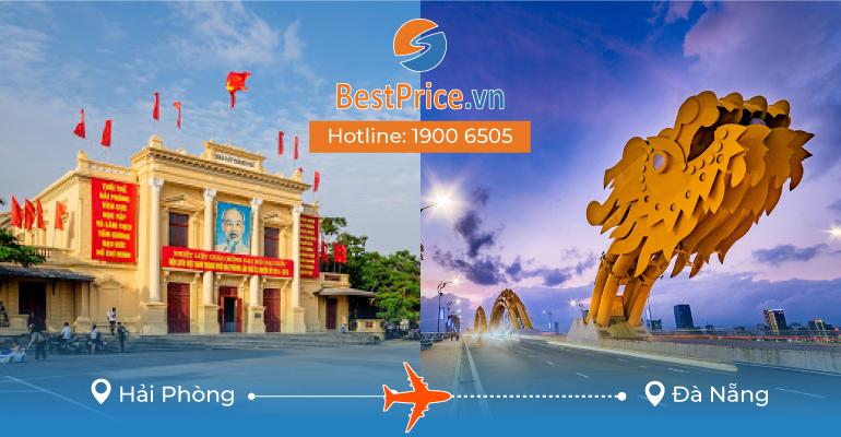 Vé máy bay giá rẻ từ Hải Phòng – Đà Nẵng