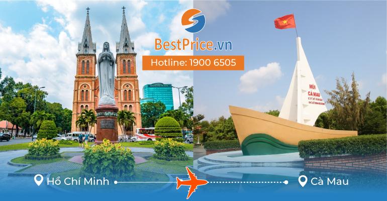 Vé máy bay giá rẻ từ Hồ Chí Minh đi Cà Mau