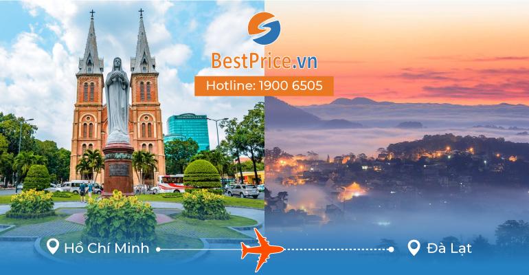 Đặt vé máy bay Hồ Chí Minh đi Đà Lạt