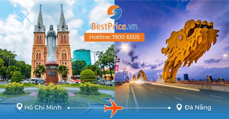 Vé máy bay giá rẻ từ Sài Gòn đi Đà Nẵng