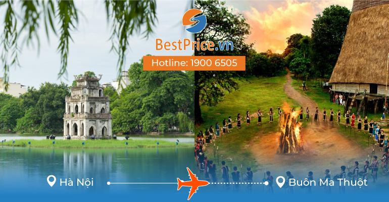 Đặt vé máy bay Hà Nội đi Buôn Ma Thuột