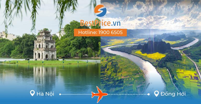 Đặt vé máy bay giá rẻ Hà Nội đi Đồng Hới