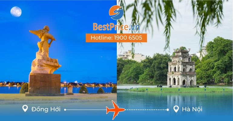 Đặt vé máy bay Đồng Hới đi Hà Nội