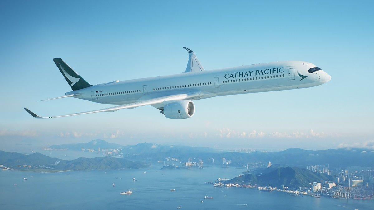Máy bay của Cathay Pacific Airways