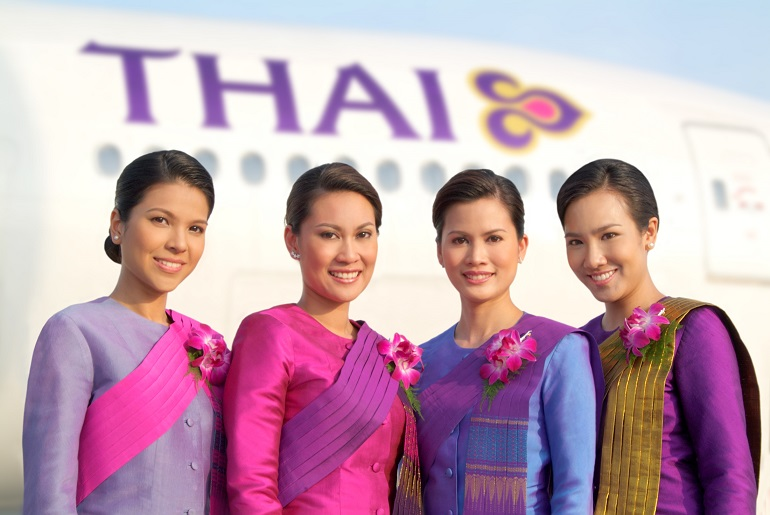Các tiếp viên của hãng Thai Airways