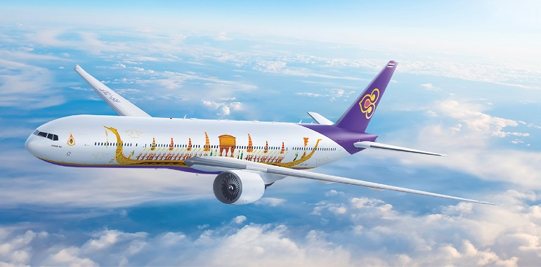 Máy bay hãng Thai Airways