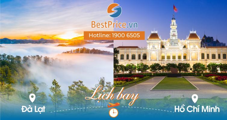 Lịch bay Đà Lạt đi Hồ Chí Minh