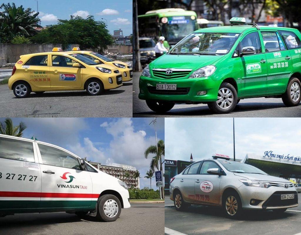 Các hãng taxi tại sân bay Phú Quốc