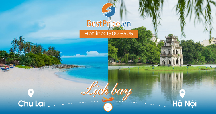 Lịch bay từ Chu Lai đi Hà Nội