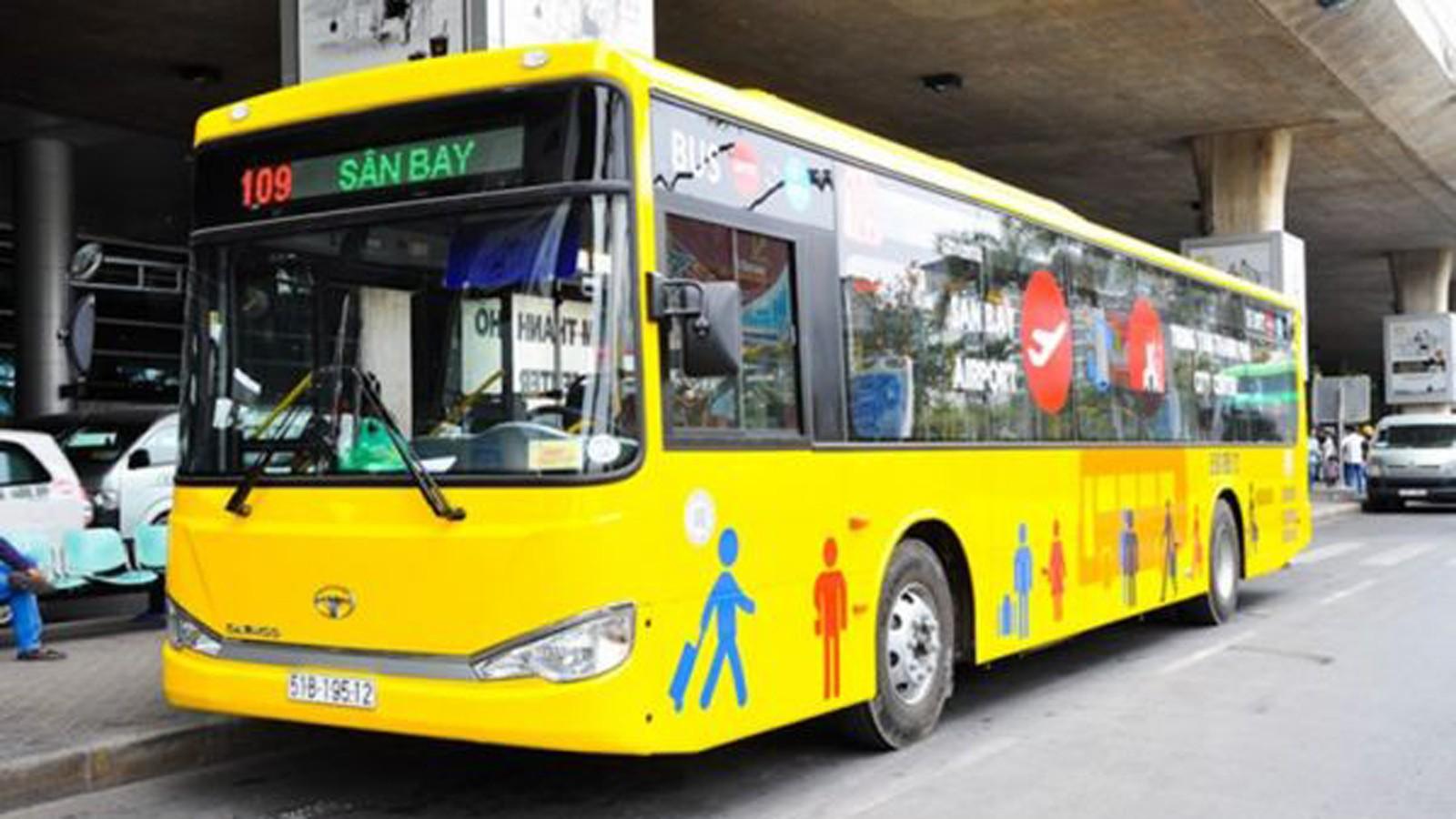 Tuyến bus 109 tại sân bay Tân Sơn Nhất