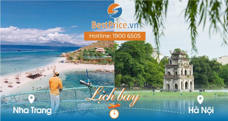 Lịch bay Nha Trang đi Hà Nội