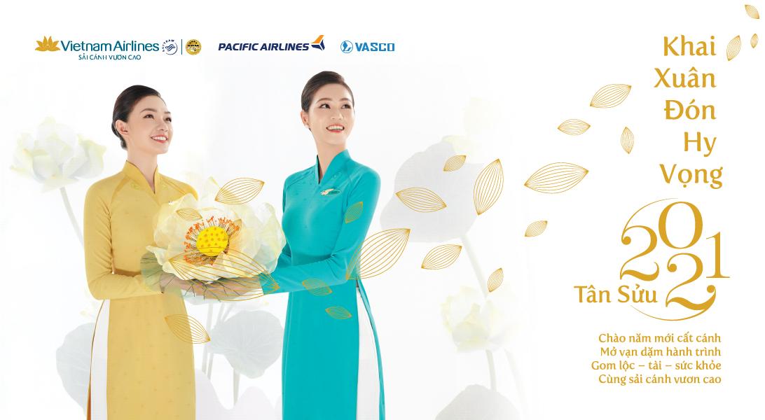 Giá vé máy bay Pacific Airlines khuyến mại Khai xuân đón hy vọng