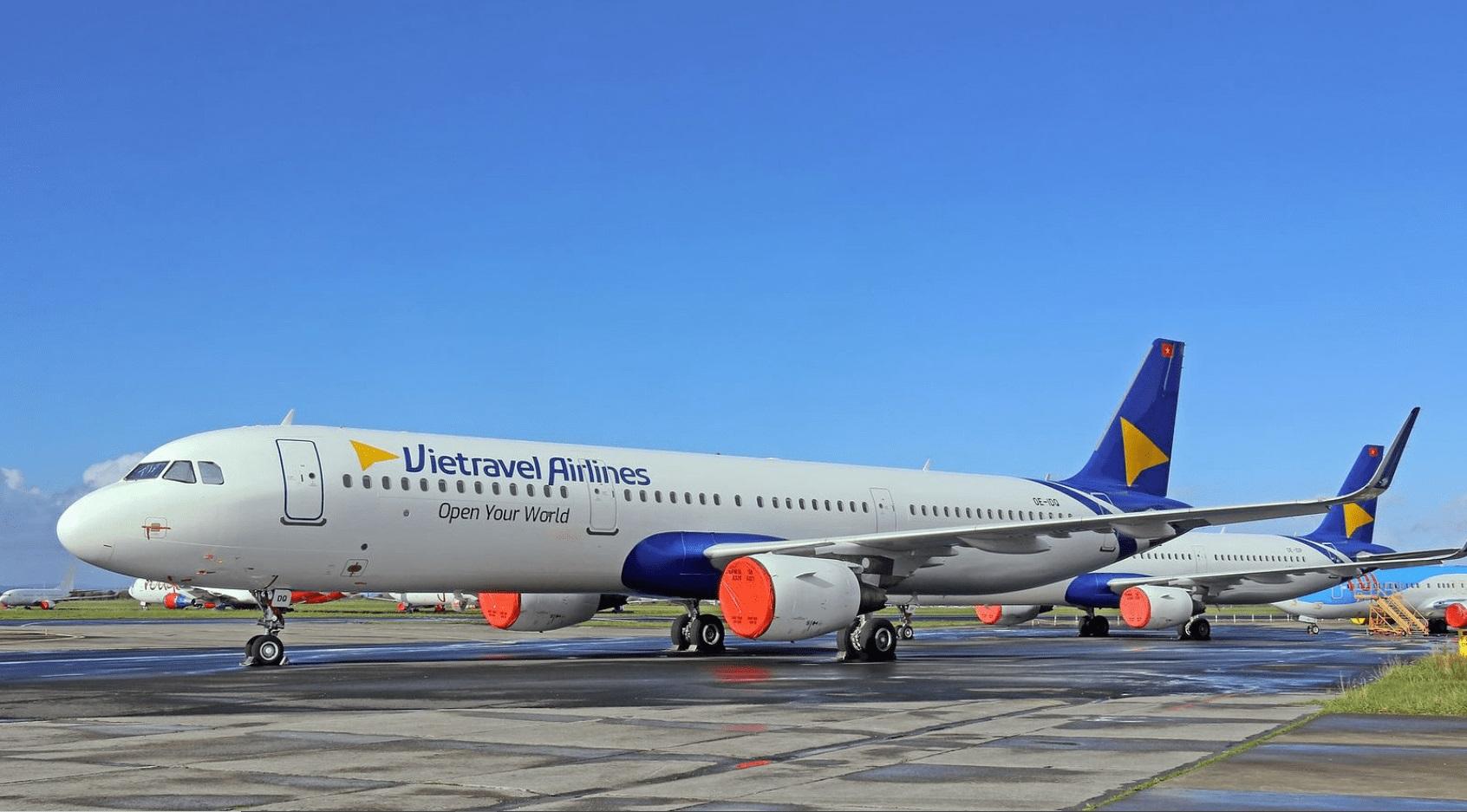 Máy bay Vietravel Airlines