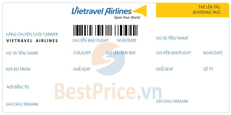 Vé máy bay Vietravel Airlines