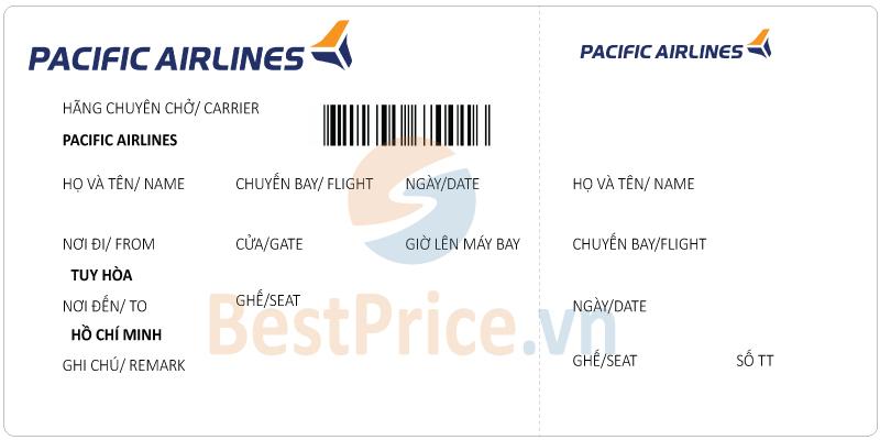 Vé máy bay Tuy Hòa - Sài Gòn Pacific Airlines