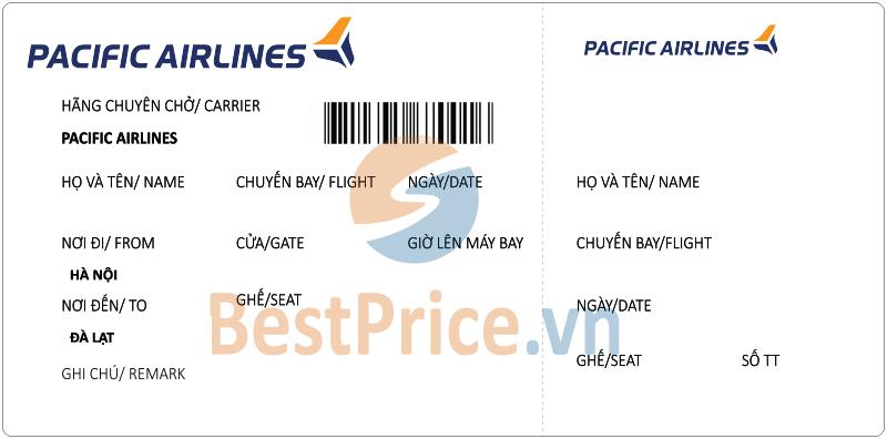 Vé máy bay Hà Nội - Đà Lạt Pacific Airlines
