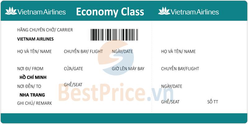 Vé máy bay Sài Gòn - Nha Trang Vietnam Airlines