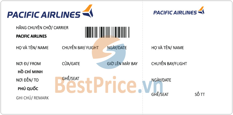 Vé máy bay Sài Gòn - Phú Quốc Pacific Airlines