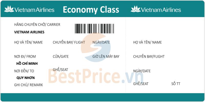 Vé máy bay Sài Gòn - Quy Nhơn Vietnam Airlines