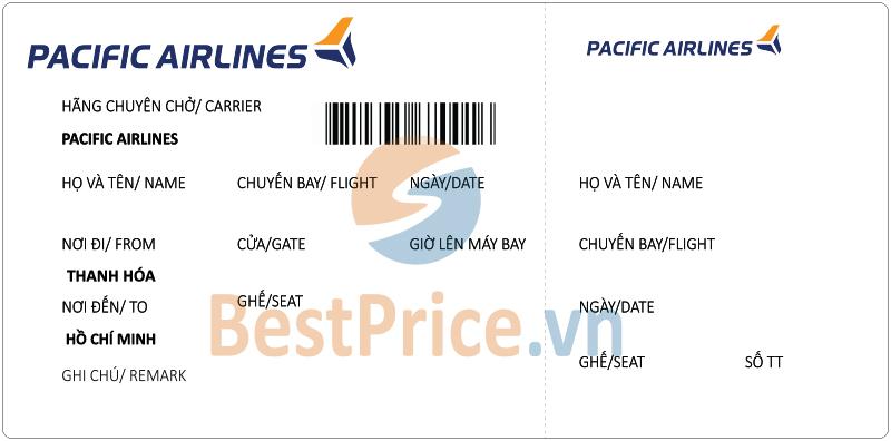 Vé máy bay Thanh Hóa - Sài Gòn Pacific Airlines