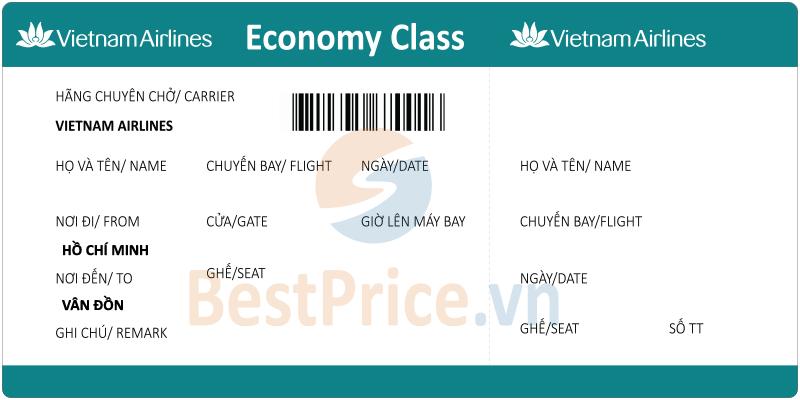 Vé máy bay Sài Gòn đi Vân Đồn Vietnam Airlines