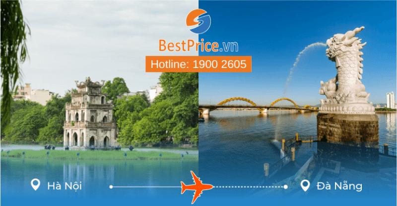 Đặt vé máy bay từ Hà Nội đi Đà Nẵng