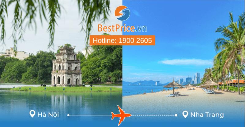 Đặt vé máy bay từ Hà Nội đi Nha Trang