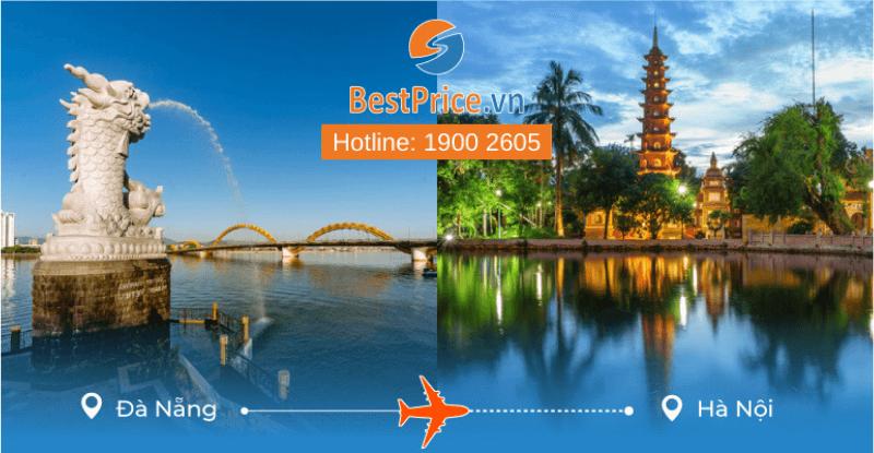 Đặt vé máy bay từ Đà Nẵng đi Hà Nội