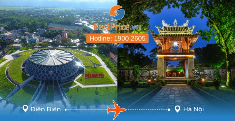 Đặt vé máy bay Điện Biên đi Hà Nội