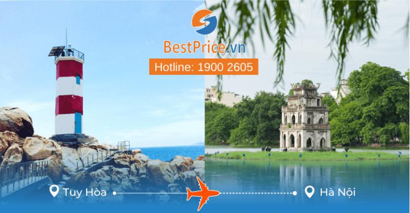 Vé máy bay giá rẻ từ Tuy Hòa - Hà Nội